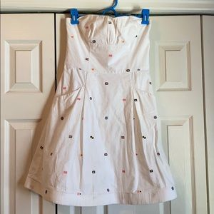 Lily Pulitzer white dress - size 4.